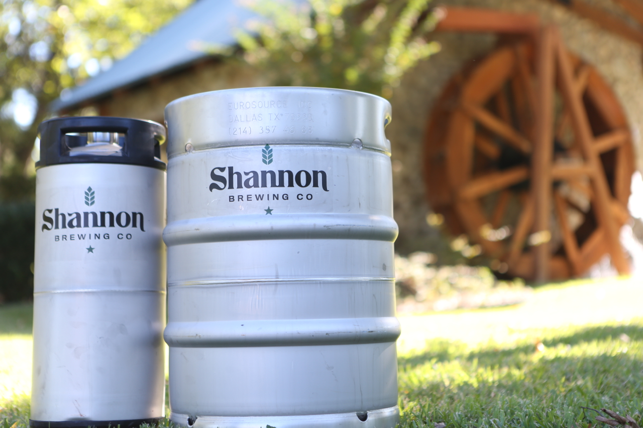 Shannon Brewing Company Kegs