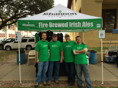 Shannon Brewing Company with Shannon Carter and Volunteers